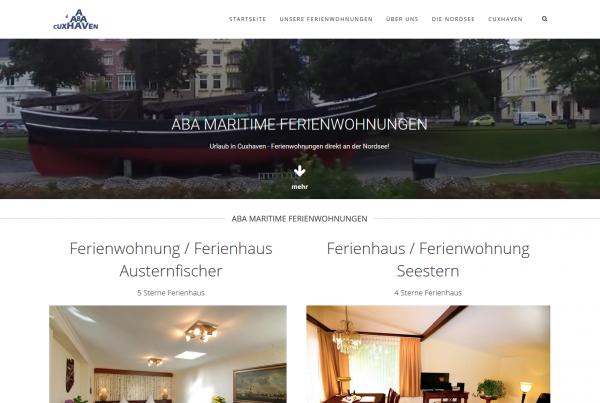 Ferienwohnung Webseite