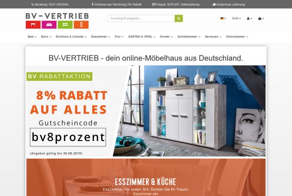 BV-Vertrieb Onlineshop