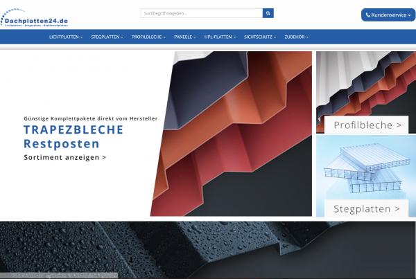 Dachplatten24.de – Relaunch